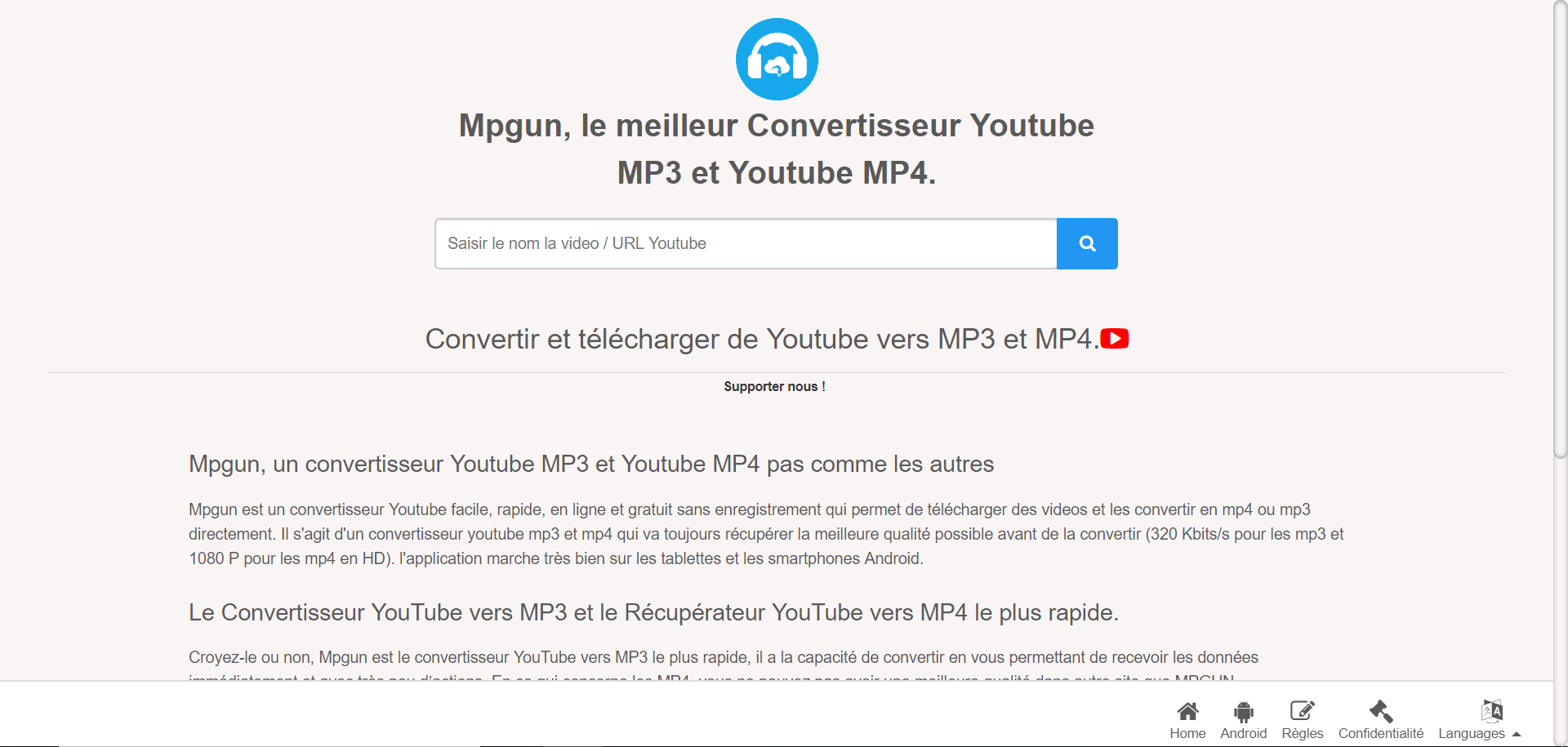 Mpgun-convertisseur-Youtube-MP3-MP4