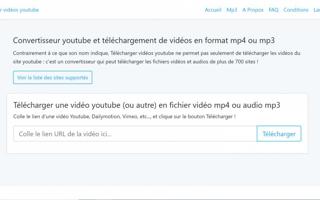 Telecharger Videos Youtube Convertisseur Youtube Mp3