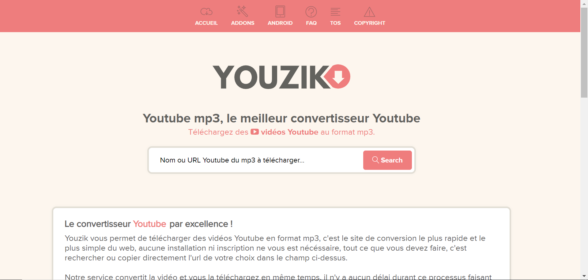 Youzik-Convertisseur-Youtube-mp3